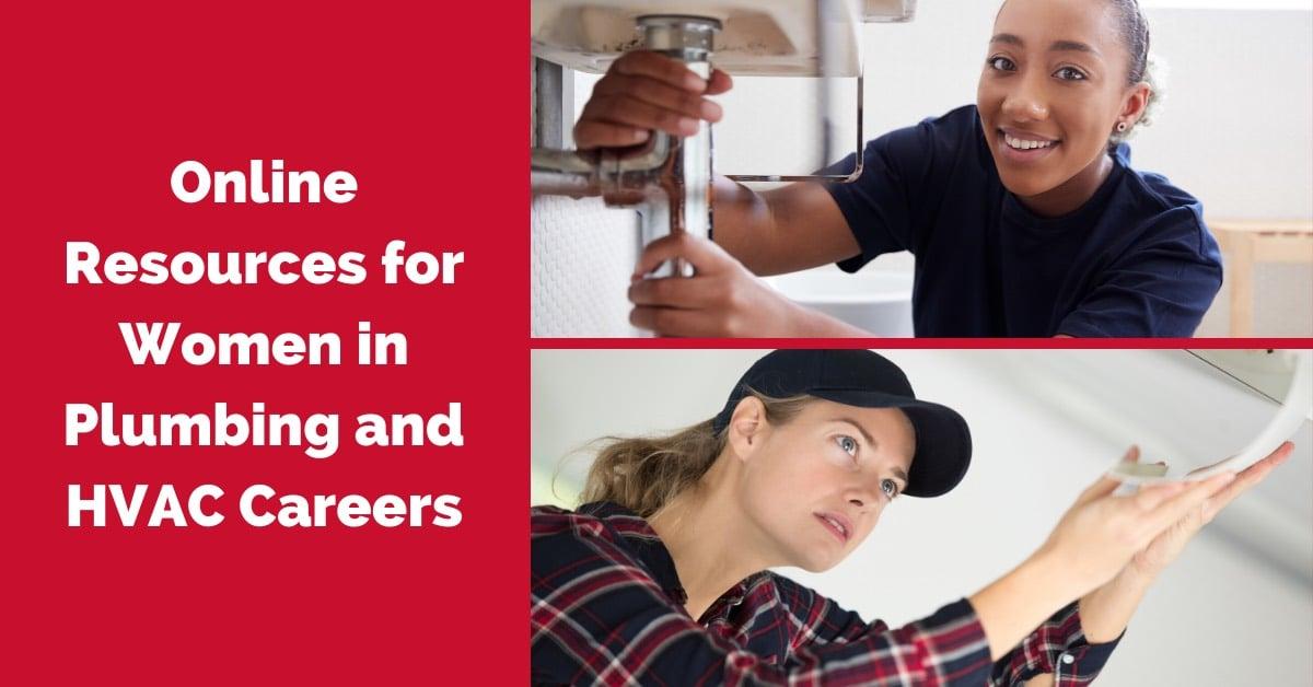 women in hvac and plumbing careers