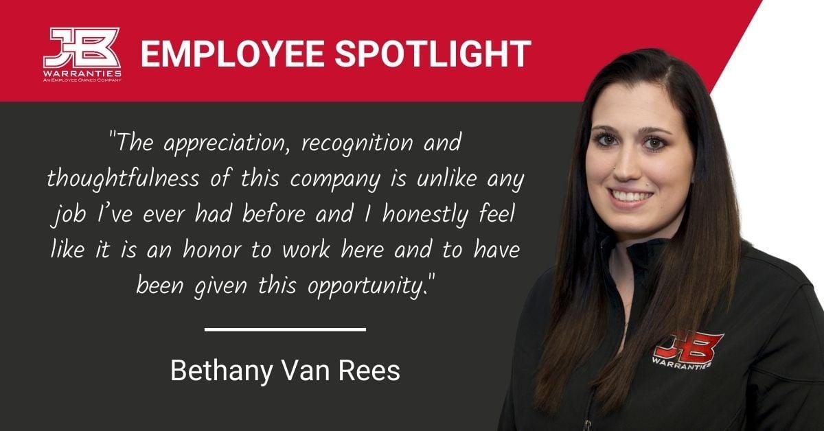 EmployeeSpotlight-BethanyVanRees