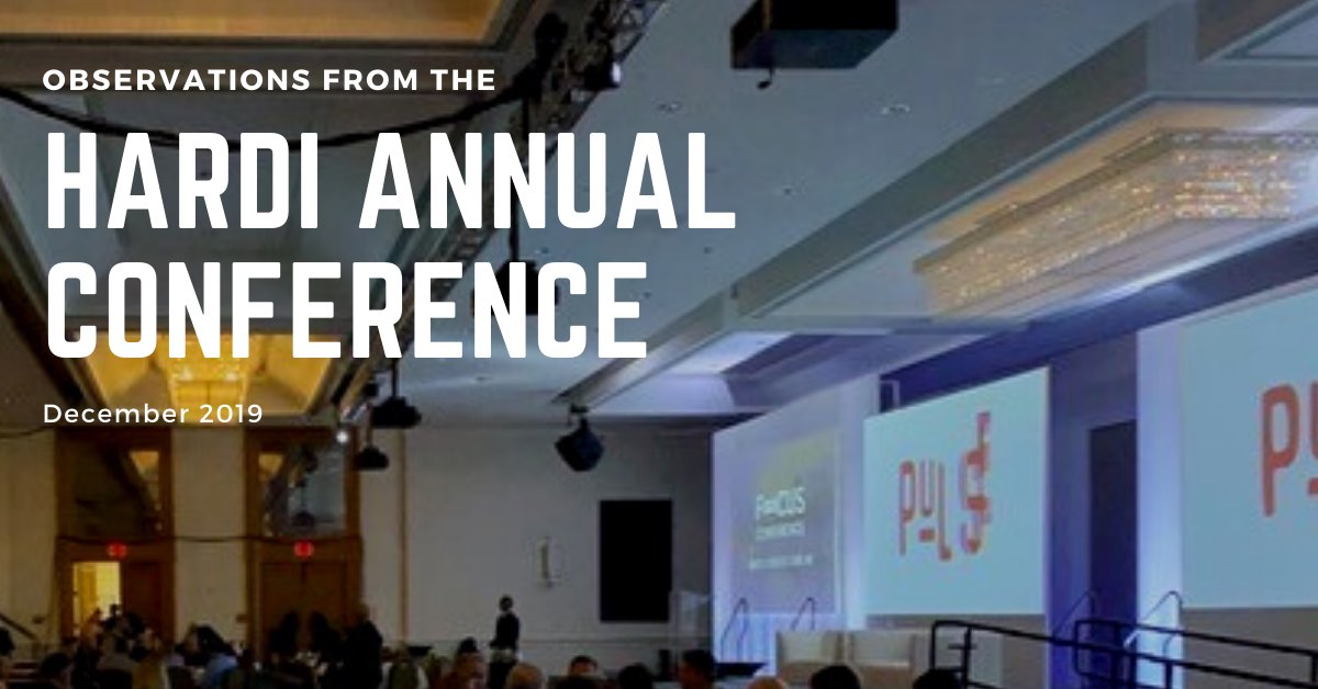 Observations from the 2019 HARDI Annual Conference